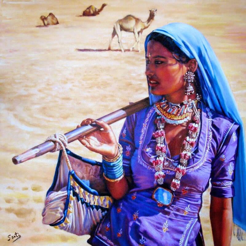 Simbologia Cigana: Santa Sarah Kali