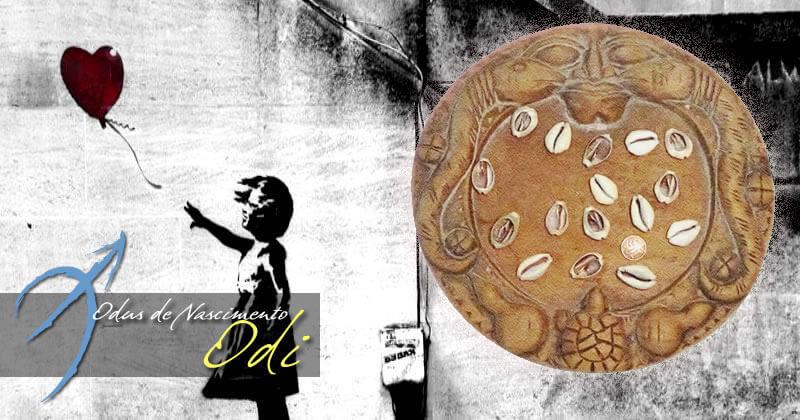 Diego de Oxóssi: Odus de Nascimento e Jogo de Búzios | Odu de Nascimento: Odi | Os Odus definem nossa personalidade e a forma como nos relacionamos com o mundo, como em um mapa astral dos Orix´s.