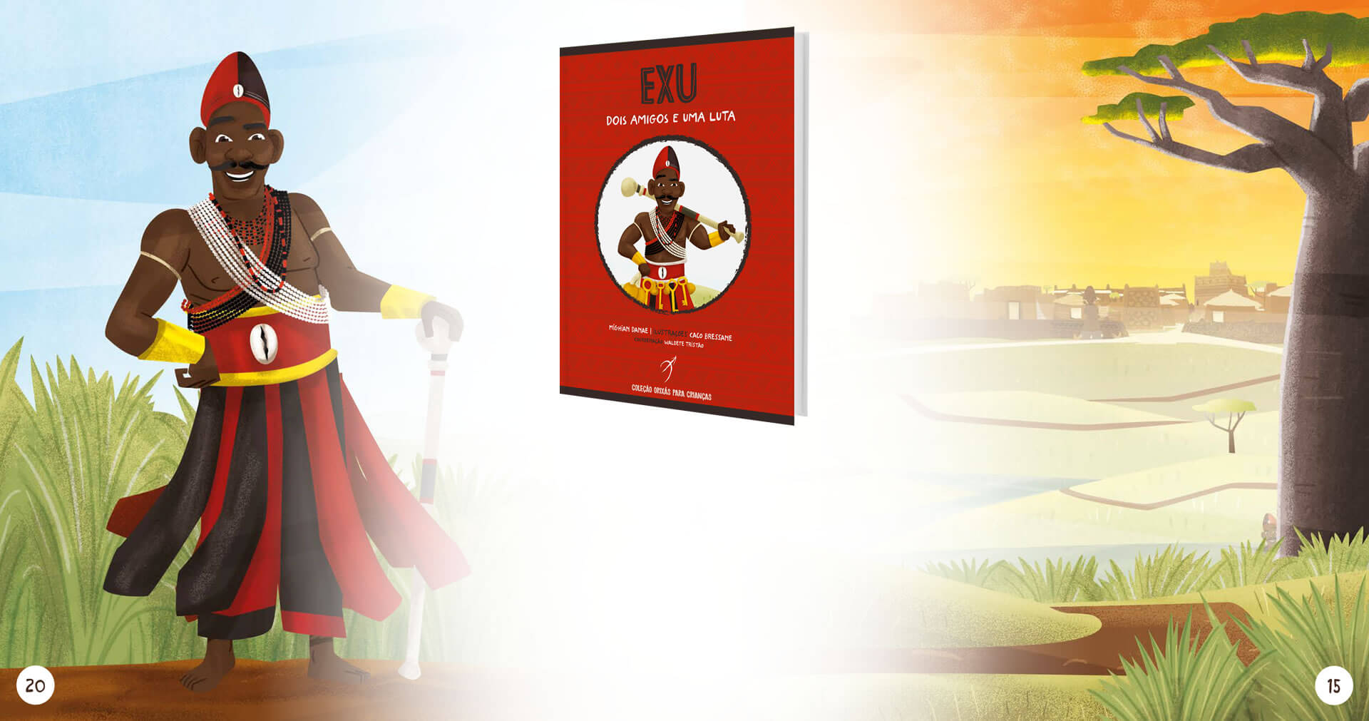 "Arole Cultural releases ""Eshu: two friends and a fight"", volume two of ""The Orishas Book For Children"" collection"