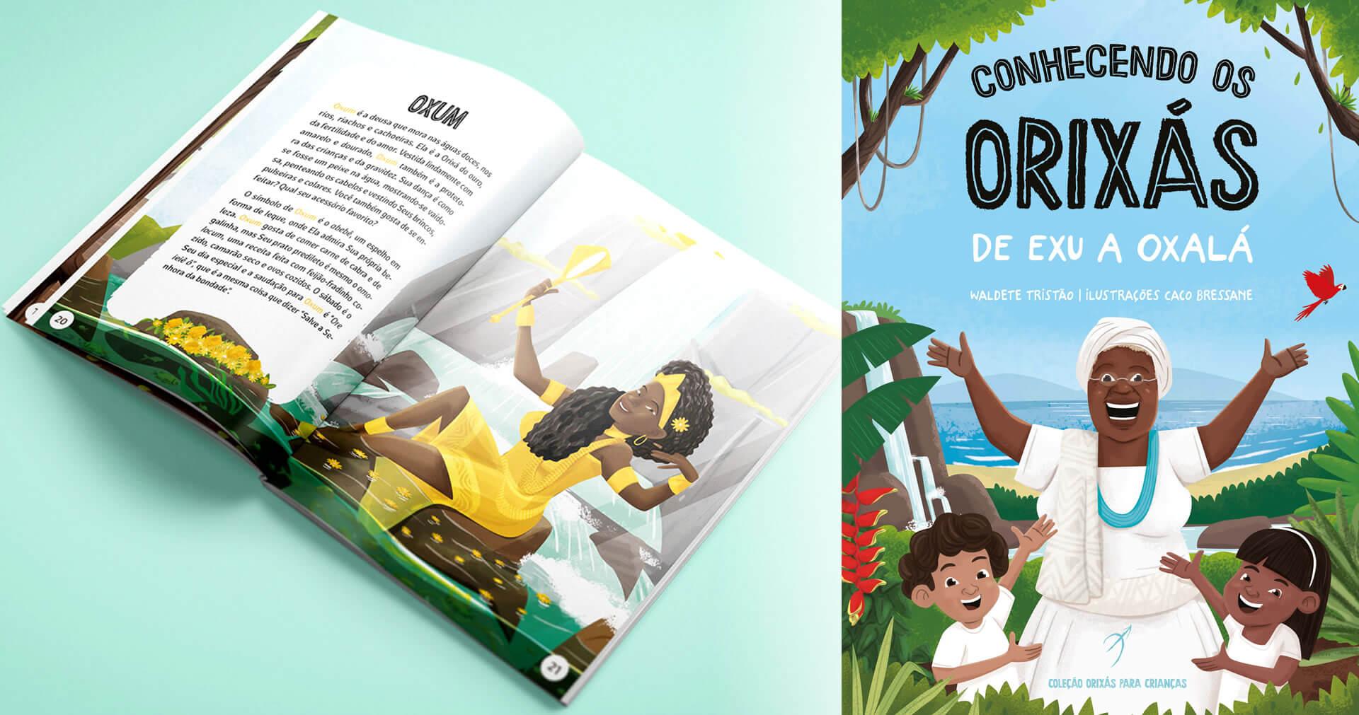 Livro infantil ajuda afro-brasileiros a recuperar sua ancestralidade