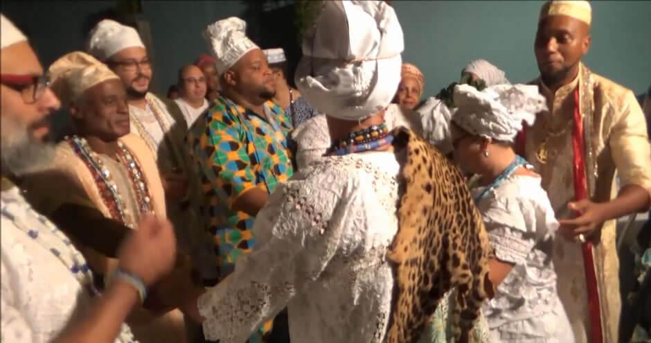Festa de Oxóssi | Entronação do Babalorixá