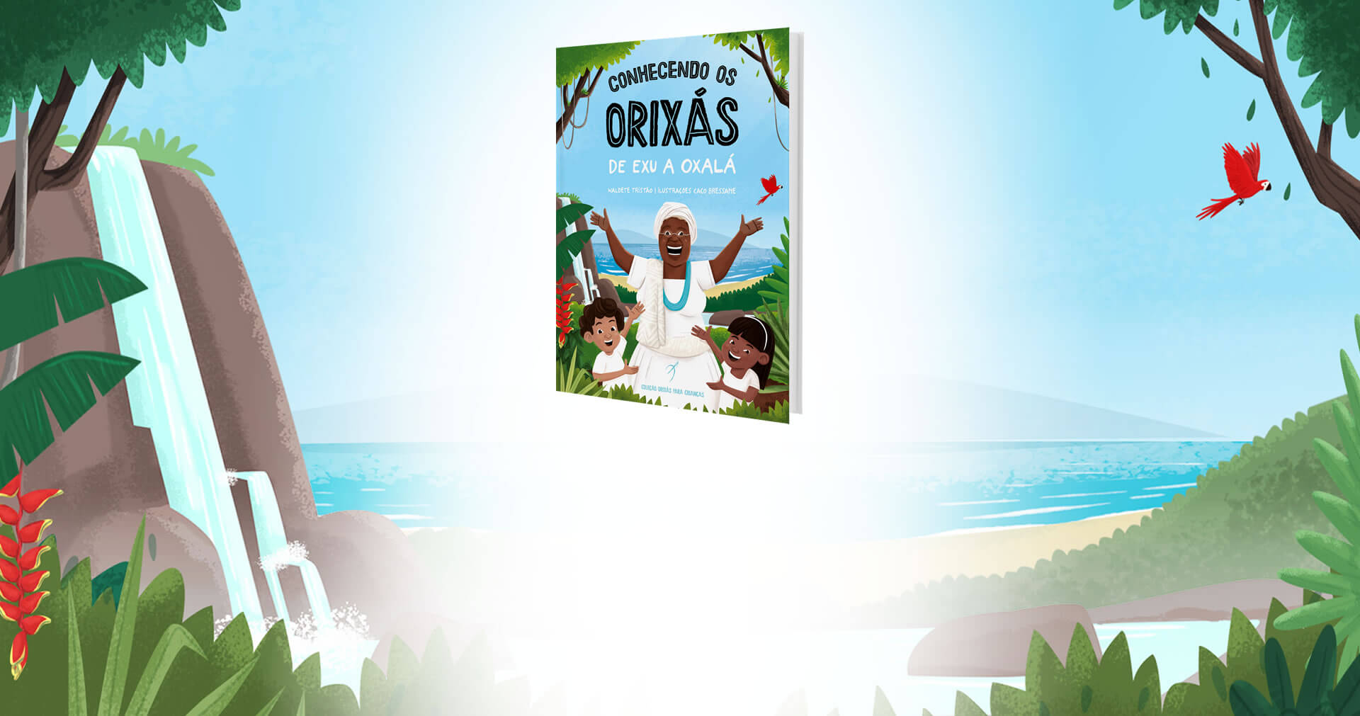 "Arole Cultural debuts on children literature with ""The Orishas Book for Children"" collection"